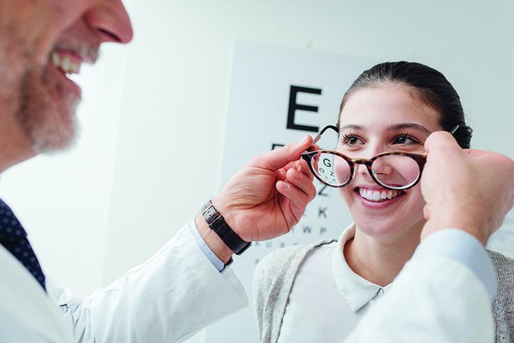 Dubbelslipade Glasögon