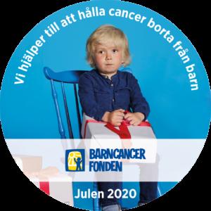 Synologen stödjer Barncancerfonden