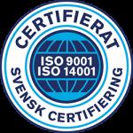 Synhälsa för företag certifikat