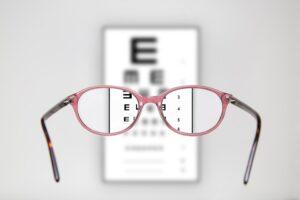 Glasögon syntest
