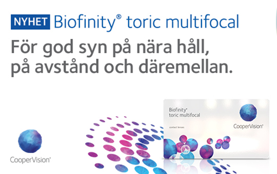 Biofinity Toric Multifocal by Cooper Vision